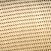 Gold Corrugated Metal