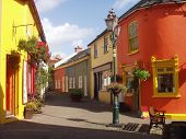Colourful Kinsale Streets Ireland