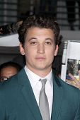 LOS ANGELES - MAR 18:  Miles Teller at the