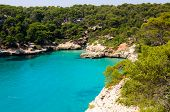 Cala Macarella Bay, Island Of Menorca, Balearic Islands, Spain
