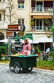 Street Vendor In Athens, Greece