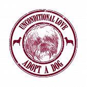 Adop A Dog Stamp