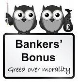Bankers bonuses