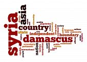 Syria Word Cloud