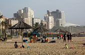 North Beach Beachfront In Durban South Africa