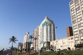 Residential And Commercial Buildings On Beachfront