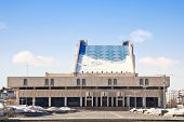 KAZAN, REPUBLIC TATARSTAN, RUSSIA - March 18, 2014: Tatar State Academic Theatre  of the name Galias