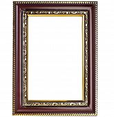 Picture photo frame isolated on a white background
