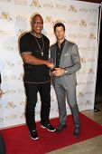 LOS ANGELES - SEP 10:  Tiny Lister, Rib Hillis at the Dance With Me USA Grand Opening at Dance With