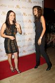 LOS ANGELES - SEP 10:  Danica McKellar, Zendaya Coleman at the Dance With Me USA Grand Opening at Da