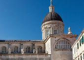 DUBROVNIK, CROATIA - MAY 26, 2014: Cathedral of the Assumption of the Virgin Mary in Dubrovnik, Croa