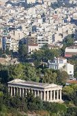 Temple Of Hephaestus In Greece