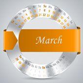 2015 June Calendar Design