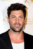 LOS ANGELES - SEP 10:  Maks Chmerkovskiy at the Dance With Me USA Grand Opening at Dance With Me Stu
