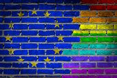 Dark Brick Wall - Lgbt Rights - Eu