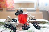 Compote Of Black Chokeberry