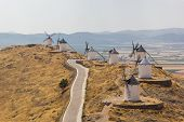 Historical Spanish windmills
