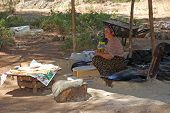 Village Woman Prepare Traditional Flatbread, Turkey