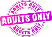 Pink Adults Icon
