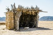 Typical Building In Tunisia For Protection In The Desert Of Matmata