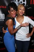 LOS ANGELES - AUG 2:  Tichina Arnold, Meagan Good at the Staying Power: Building Legacy & Longevity