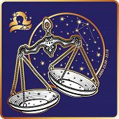 Horoscope.Libra zodiac sign