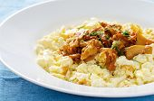 Scrambled Eggs With Fried Chanterelles