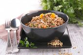 lentils with carrot