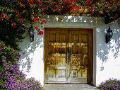 stock photo of southwest  - Spanish style architecture of the Southwest USA - JPG