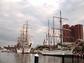Tall Ships In Baltimore Maryland Celebration