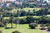 Almerimar Golf Course In Spain On The Costa Del Almeria