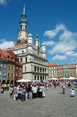 Town Hall On Marketplace In Poznan