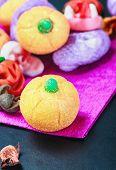 Jujube And Pumpkin Souffle Of A Happy Halloween