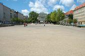 Freedom Square In Poznan, Poland