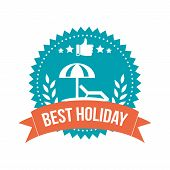 Simple Best Holiday Banner Tag