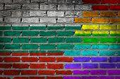 Dark Brick Wall - Lgbt Rights - Bulgaria