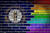 Dark Brick Wall - Lgbt Rights - Kentucky
