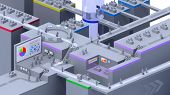 3D virtual office