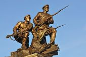 Monument To The Heroes Of First World War. Kaliningrad, Russia
