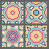 Abstract Geometric Tile