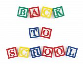 Back To School Alphabet Blocks
