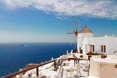 windmill of Oia, Santorini