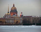 The English embankment, St. Petersburg