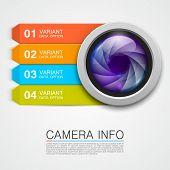Camera info banner