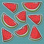 Watermelons stickers