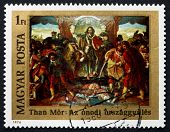 Postage Stamp Hungary 1976 Diet Of Onod, By Mor Than