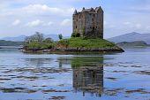 Castel Stalker Loch Linnhe Scotland