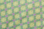 Pattern of Thai native cloths , beautiful texture
