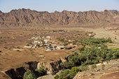 stock photo of hamlet  - Wadi Madbah - JPG