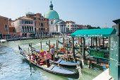 Gondolas Service In Venice